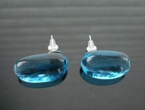 Jelly Beans Earrings - Aqua - KTurnAroundJewelry.info