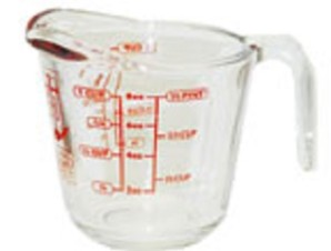 Anchor Hocking 8 oz Glass Measuring Cup - kitchencollection.com