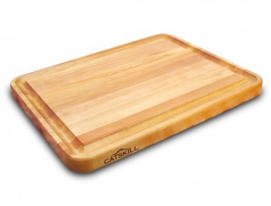 Pro Series Wooden Cutting Board with Reversible Groove by Catskill Craftsmen - stacksandstacks.com