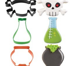 Mad Scientist Halloween Cookie Cutter Set - buycostumes.com