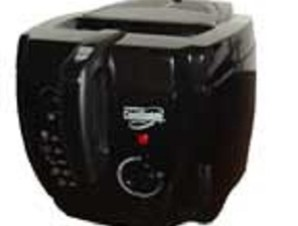 Presto Cool Daddy Professional Deep Fryer in Black - kitchencollection.com