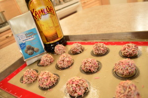 Drunken Monkey No-Bake Boozy Bites by Cakes Under the Influence - cookingwithkimberly.com